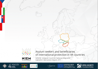 Asylum seekers and beneficiaries of international protection in V4 countries